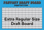 Extra Regular Size Draft Board