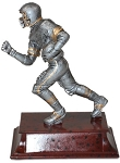 6 Inch Resin Football Player Trophy