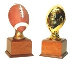 Large Resin Football Trophy