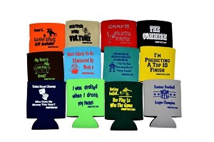 Fantasy Baseball Draft Koozie Set of 8 Different Koozies